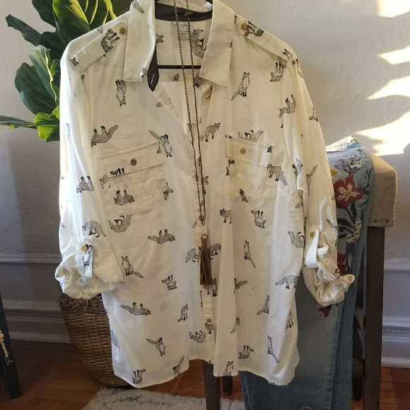 Vintage Jaclyn Smith Tropical Full Button Up Dress